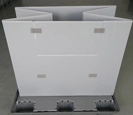 可折叠蜂窝板围板箱