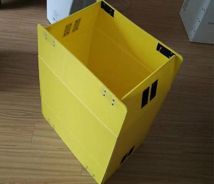 可折叠中空板箱